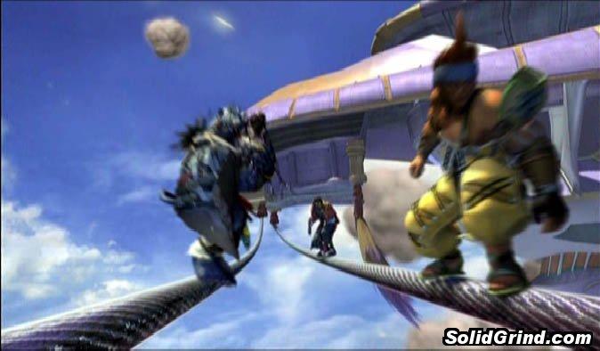 Final Fantasy X hittin a Synchronized Soaping