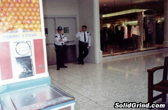 These guys kicked me out of the mall for soaping that day