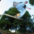 Dunk's 'Take My Shoe Off' Backslide on the Alexandra Park handrail