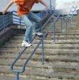 Stuart Pickston sliding the Gurnell Swimming Rail